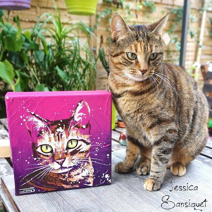 Combien de temps pour faire un tableau amylee - Combien de temps un chat peut disparaitre ...