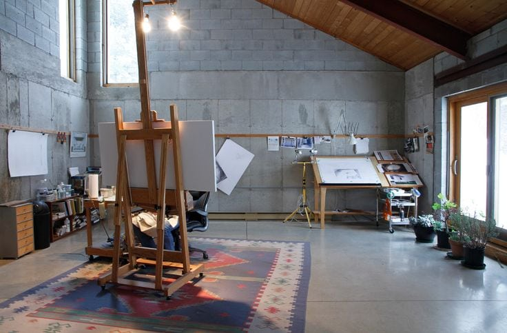 atelier artist creation espace