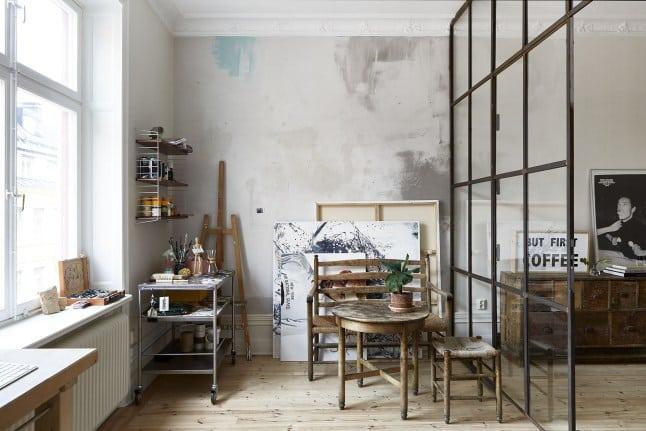 20 ateliers d 39 artistes aux int rieurs etonnants amylee. Black Bedroom Furniture Sets. Home Design Ideas