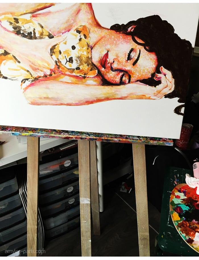 chevalet-artiste-atelier-amylee