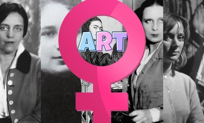 50 femmes artistes dans leur atelier