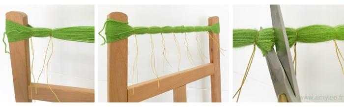 pompon fleur laine facile creation