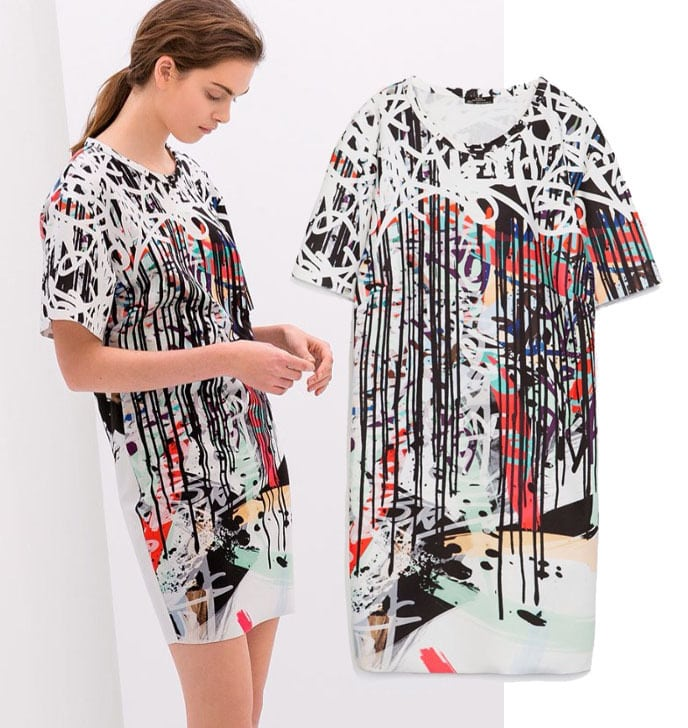 Fashion-Womens-s-Paint-Graffiti-Print-Dress-Summer-Za-Straight-Novelty-Dress-Short-Sleeve-Dresses-Brand