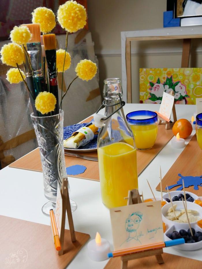 bouquet de table idée