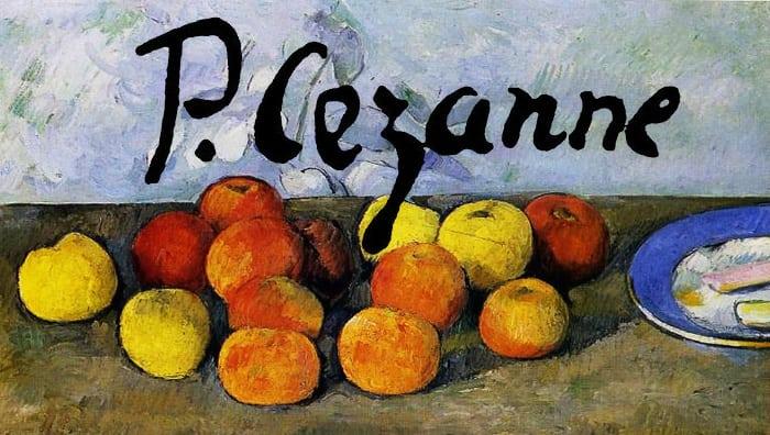 tableau Cézanne peintre