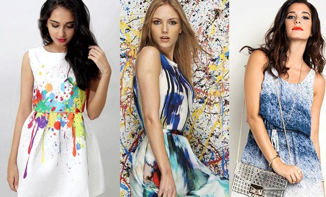 Robes Avec Top Rime Couture Des 20 ArtyQuand Peinture CsdxQthrB
