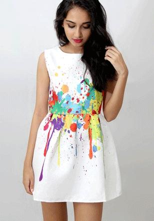 splash-dress-art-colour