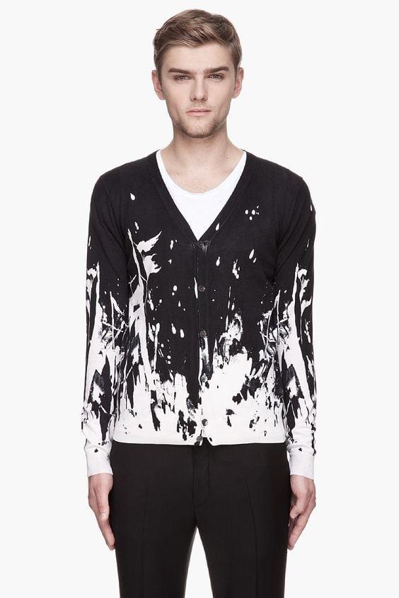 noir blanc fashion homme