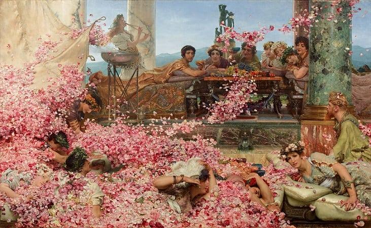 Les roses d'Héliogabale