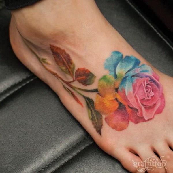 idée tatouage peinture