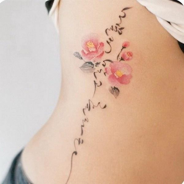 35 tatouages aquarelles amylee for Basque cross tattoos