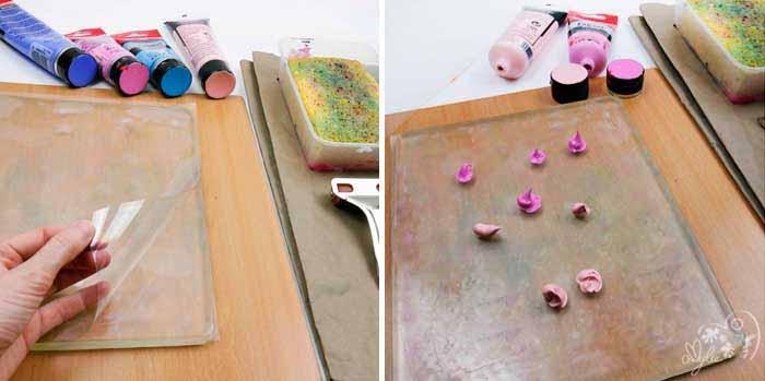 print art gelli plate gel plaque impression