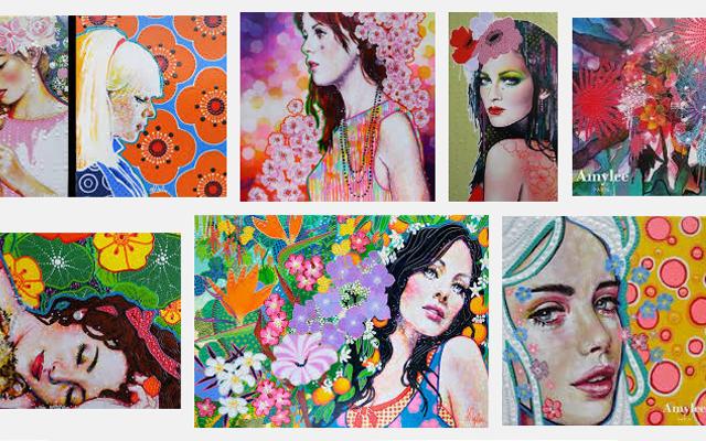 Ou Voir Les Tableaux De L Artiste Peintre Amylee