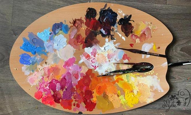 """Résultat de recherche d'images pour """"palette artiste"""""""