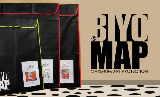 biyomap  housse d u0026 39 emballage tableau