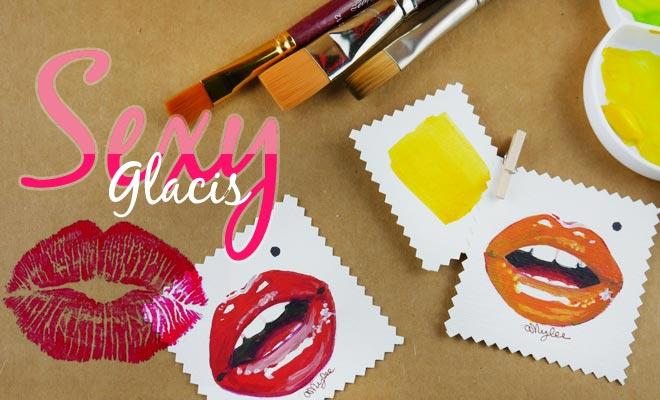Glacis Peinture Acrylique Amyleefr Le Magazine De Lartiste