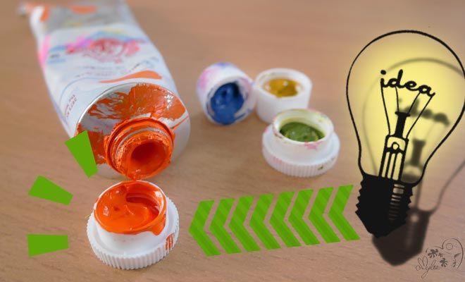 Comment nettoyer de la peinture coinc e dans le capuchon d for Nettoyer des pinceaux de peinture