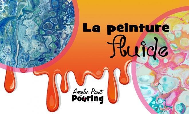 peinture fluide  technique de l u0026 39 acrylic pouring