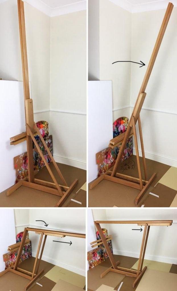 Un super chevalet table pour peindre amylee - Chevalet de table peinture ...