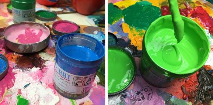 Apy Art Peinture Acrylique En Pot