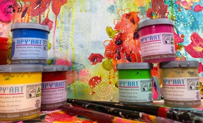 Apyart Peinture Acrylique En Pot Amyleefr Le Magazine De L