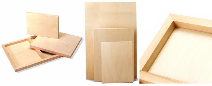 peindre sur un support en bois amylee. Black Bedroom Furniture Sets. Home Design Ideas