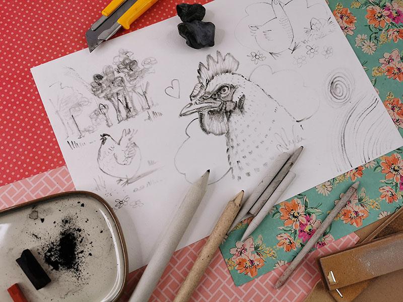 estompe artiste dessin atelier conseil